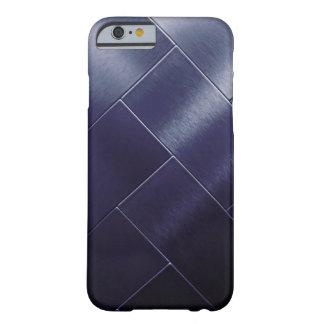 Funda Barely There iPhone 6 Teja gris Vip de Ombre de la marina de guerra azul