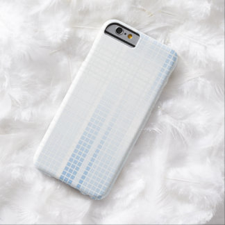 Funda Barely There iPhone 6 Tejas de mosaico azules