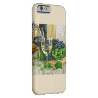 Funda Barely There iPhone 6 Tema con clase del vino