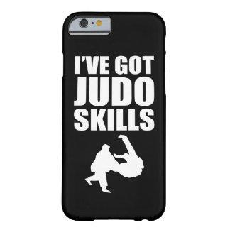 Funda Barely There iPhone 6 Tengo artes marciales de las habilidades del judo
