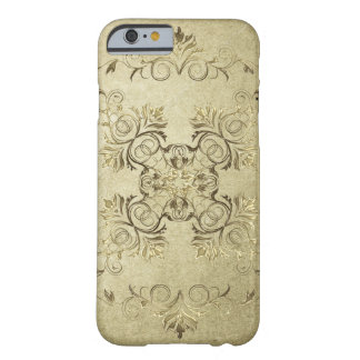 Funda Barely There iPhone 6 Textura barroca del grunge del estilo