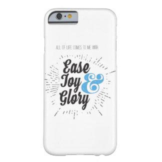 Funda Barely There iPhone 6 Toda la vida viene a mí fácilmente caso de la