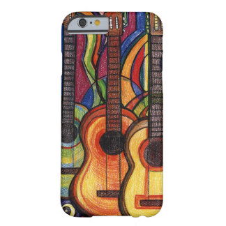 Funda Barely There iPhone 6 Tres guitarras