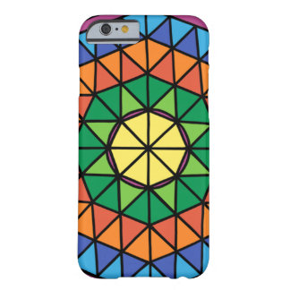 Funda Barely There iPhone 6 Triángulos coloridos