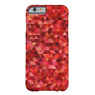 Funda Barely There iPhone 6 Triángulos sangrientos