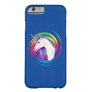 Funda Barely There iPhone 6 Unicornio del arco iris