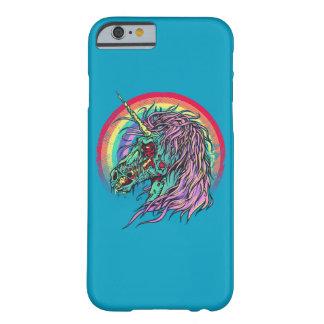 Funda Barely There iPhone 6 Unicornio del zombi