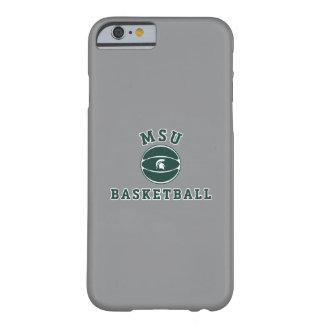 Funda Barely There iPhone 6 Universidad de estado del baloncesto el | Michigan