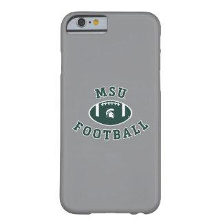 Funda Barely There iPhone 6 Universidad de estado del fútbol el | Michigan de