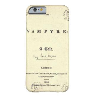 Funda Barely There iPhone 6 Vampiro de Byron