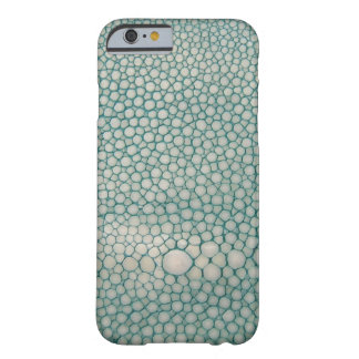Funda Barely There iPhone 6 Verde de Shagreen Seafoam