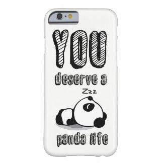 Funda Barely There iPhone 6 Vida de la panda
