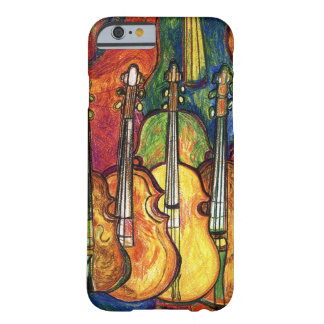 Funda Barely There iPhone 6 Violines