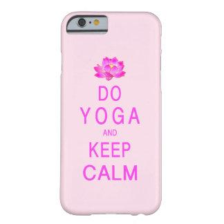 Funda Barely There iPhone 6 Yoga con la flor de Lotus