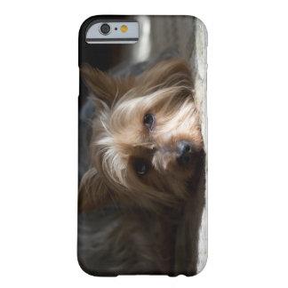 Funda Barely There iPhone 6 Yorkhire/cajas del teléfono y del iPad de Terrier