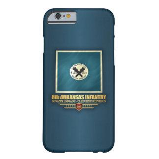 Funda Barely There Para iPhone 6 8vo Infantería de Arkansas