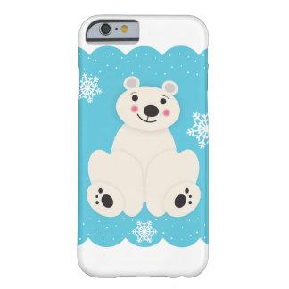 Funda Barely There Para iPhone 6 Amigo polar