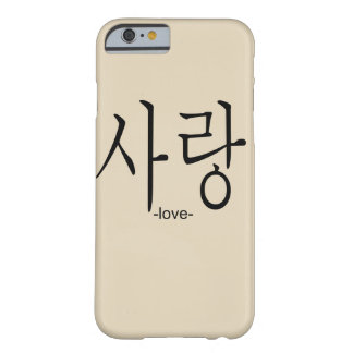 Funda Barely There Para iPhone 6 amor