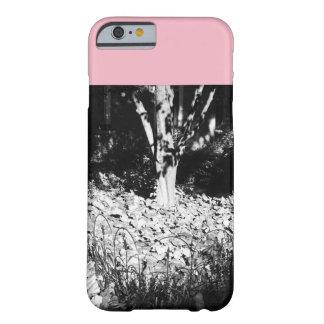 Funda Barely There Para iPhone 6 Árbol rosado y gris