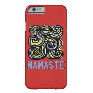 "Funda Barely There Para iPhone 6 Caja brillante del teléfono de ""Namaste"""