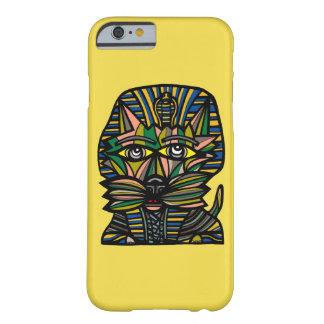 "Funda Barely There Para iPhone 6 ""Caja brillante del teléfono del Kat del Pharaoh"""
