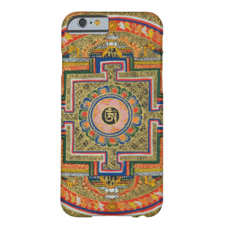 Funda Barely There Para iPhone 6 Caja colorida del teléfono de Tíbet de la mandala