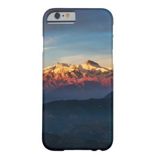 Funda Barely There Para iPhone 6 Caja con clase del teléfono de las montañas de la