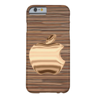 Funda Barely There Para iPhone 6 caja de oro del logotipo del iphone 6s