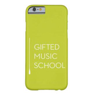 Funda Barely There Para iPhone 6 Caja del teléfono de GMS