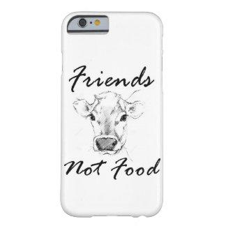 Funda Barely There Para iPhone 6 Caja del teléfono de Iphone del vegano de la