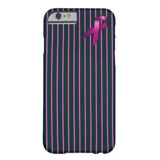 Funda Barely There Para iPhone 6 Caja del teléfono de la conciencia del cáncer de
