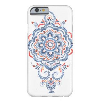 Funda Barely There Para iPhone 6 caja del teléfono de la flor de la mandala de la