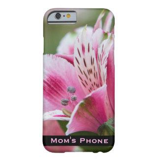 Funda Barely There Para iPhone 6 Caja del teléfono del Alstroemeria para la mamá