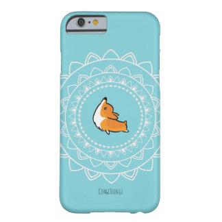 Funda Barely There Para iPhone 6 Caja del teléfono del Corgi de Namaste