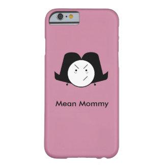 Funda Barely There Para iPhone 6 Caja mala del teléfono de la mamá