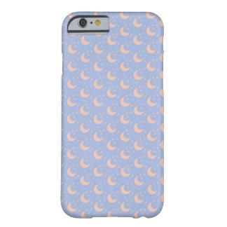 Funda Barely There Para iPhone 6 caja moderna del iphone de la luna azul