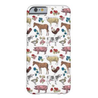 Funda Barely There Para iPhone 6 Caja mullida del teléfono de la belleza de la