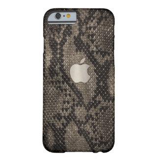 Funda Barely There Para iPhone 6 Caja oscura del estilo de la piel de serpiente