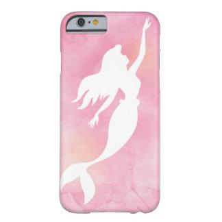 Funda Barely There Para iPhone 6 Caja rosada del teléfono de la silueta de la