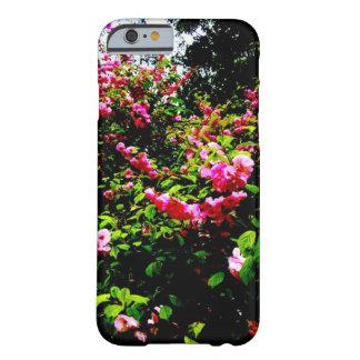 Funda Barely There Para iPhone 6 Caja vibrante del teléfono de Rosebush