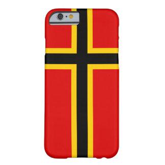Funda Barely There Para iPhone 6 Caso cruzado nórdico del iPhone de Alemania