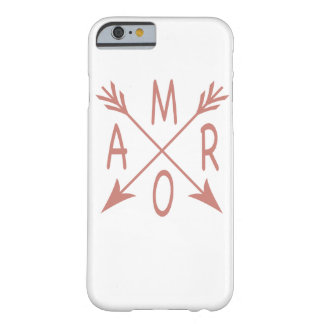 Funda Barely There Para iPhone 6 Caso de Amor IPhone