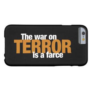 Funda Barely There Para iPhone 6 Caso del iPhone 6/6s de las redes del terror