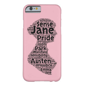 Funda Barely There Para iPhone 6 Caso del iPhone 6 de Jane Austen