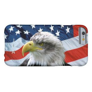 Funda Barely There Para iPhone 6 Caso del iPhone 6 del monograma de la bandera