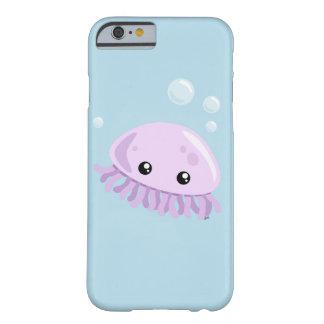 Funda Barely There Para iPhone 6 Caso lindo de Smartphone de las medusas