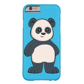 Funda Barely There Para iPhone 6 Caso lindo del iPhone 6 de la panda del dibujo