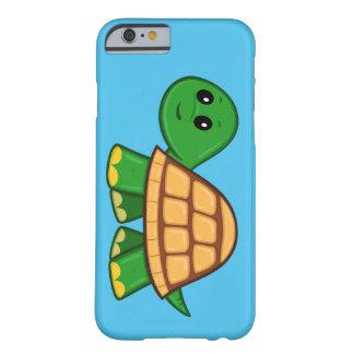 Funda Barely There Para iPhone 6 Caso lindo del iPhone 6 de la tortuga del dibujo