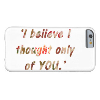 Funda Barely There Para iPhone 6 Cita del orgullo y del perjuicio