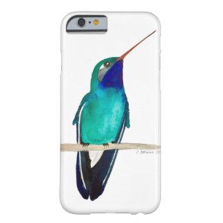 Funda Barely There Para iPhone 6 colibrí Amplio-cargado en cuenta encaramado